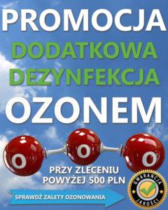 ozonowanie promocja