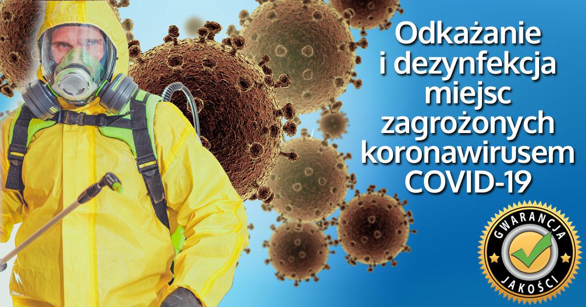 koronawirus dezynfekcja